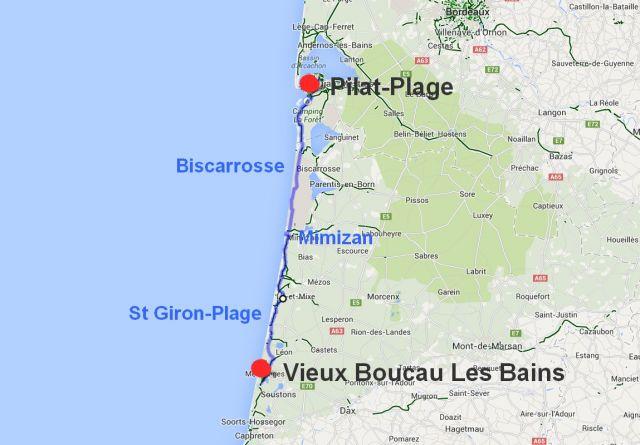 49 vieux boucau pilat plage p pito v lo - Office du tourisme de biscarrosse ...